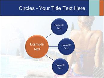 Woman relaxing PowerPoint Template - Slide 79