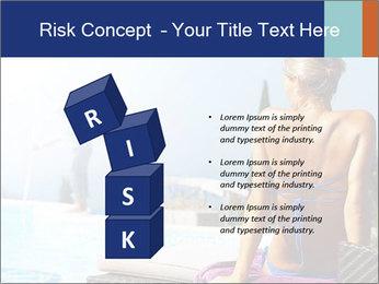 Woman relaxing PowerPoint Template - Slide 81