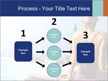 Woman relaxing PowerPoint Template - Slide 92