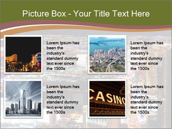 World class hotels and casino PowerPoint Template - Slide 14
