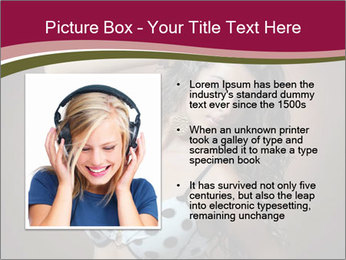 Pretty young woman PowerPoint Template - Slide 13