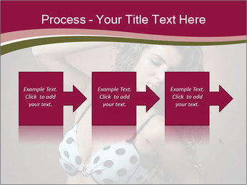 Pretty young woman PowerPoint Template - Slide 88