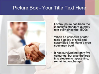 Handshake PowerPoint Template - Slide 13