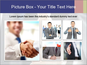 Handshake PowerPoint Template - Slide 19