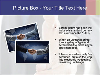 Handshake PowerPoint Template - Slide 20