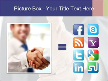Handshake PowerPoint Template - Slide 21