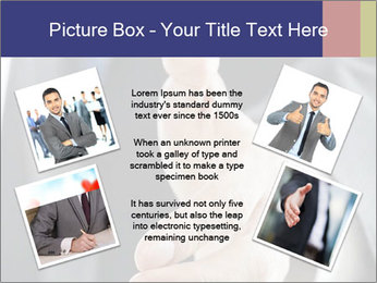 Handshake PowerPoint Template - Slide 24