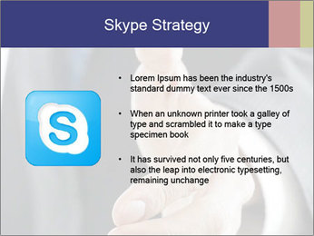 Handshake PowerPoint Template - Slide 8