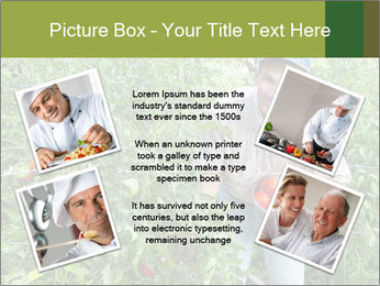 Man picking tomatoes PowerPoint Template - Slide 24