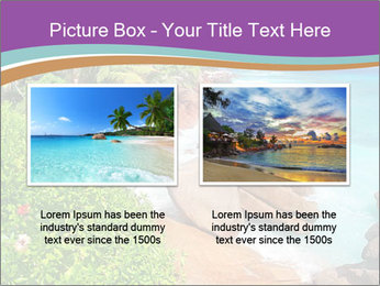 Palms fringe a stunning Beach PowerPoint Template - Slide 18