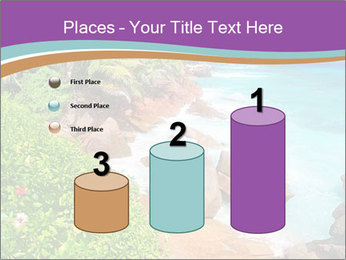 Palms fringe a stunning Beach PowerPoint Template - Slide 65