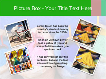 Moroccan colors PowerPoint Template - Slide 24