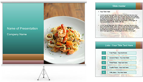Seafood PowerPoint Template