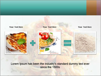 Seafood PowerPoint Template - Slide 22