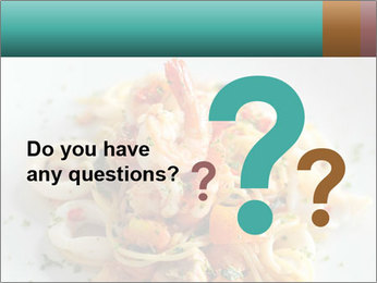 Seafood PowerPoint Template - Slide 96
