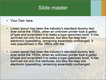 A sugar cane field PowerPoint Template - Slide 2