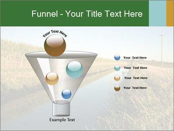 A sugar cane field PowerPoint Template - Slide 63