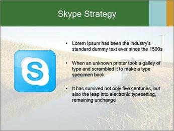 A sugar cane field PowerPoint Template - Slide 8