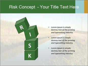 A sugar cane field PowerPoint Template - Slide 81