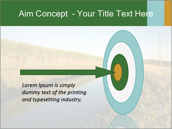 A sugar cane field PowerPoint Template - Slide 83