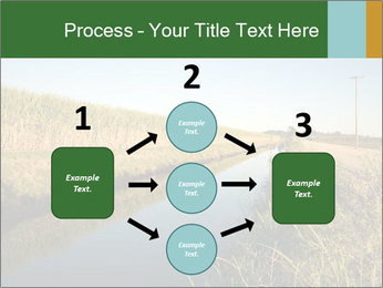 A sugar cane field PowerPoint Template - Slide 92