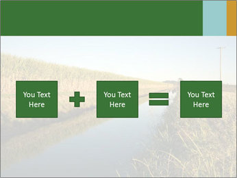 A sugar cane field PowerPoint Template - Slide 95