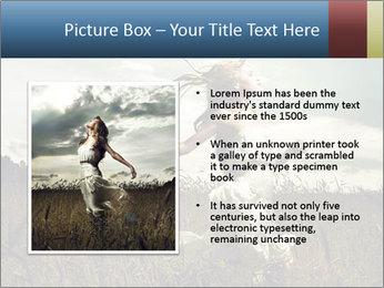 Romantic woman PowerPoint Template - Slide 13