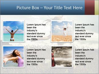 Romantic woman PowerPoint Template - Slide 14