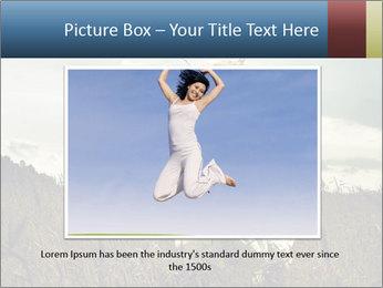 Romantic woman PowerPoint Template - Slide 15