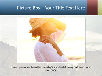 Romantic woman PowerPoint Template - Slide 16