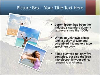 Romantic woman PowerPoint Template - Slide 17