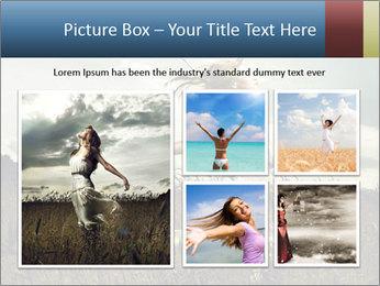 Romantic woman PowerPoint Template - Slide 19