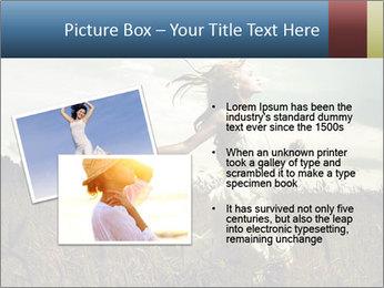 Romantic woman PowerPoint Template - Slide 20