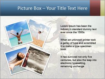 Romantic woman PowerPoint Template - Slide 23