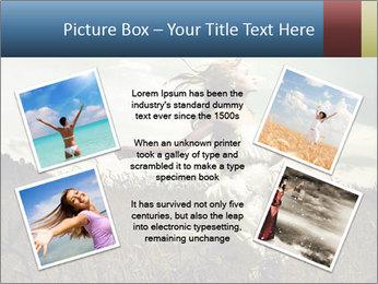 Romantic woman PowerPoint Template - Slide 24