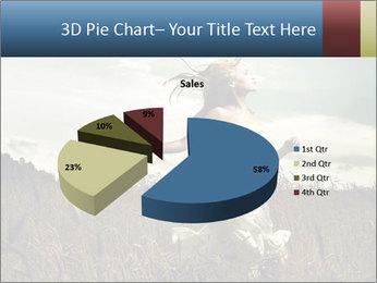 Romantic woman PowerPoint Template - Slide 35