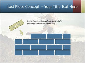 Romantic woman PowerPoint Template - Slide 46
