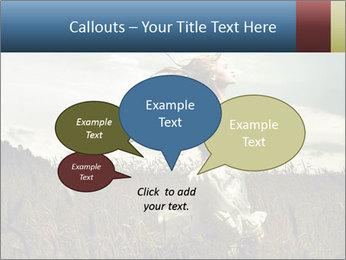 Romantic woman PowerPoint Template - Slide 73