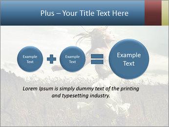 Romantic woman PowerPoint Template - Slide 75