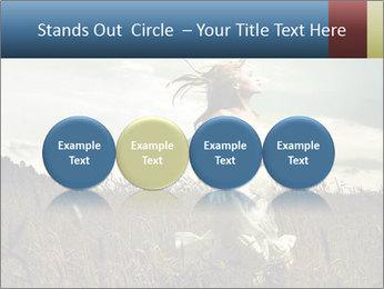 Romantic woman PowerPoint Template - Slide 76