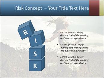 Romantic woman PowerPoint Template - Slide 81