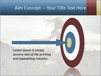 Romantic woman PowerPoint Template - Slide 83