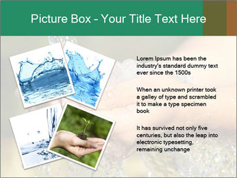 Woman's hands PowerPoint Template - Slide 23