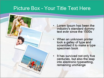 Happy couple PowerPoint Template - Slide 17