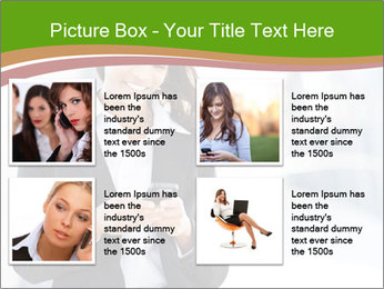 Black businesswoman PowerPoint Template - Slide 14