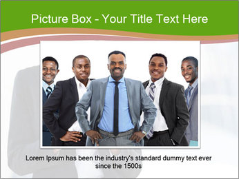 Black businesswoman PowerPoint Template - Slide 15