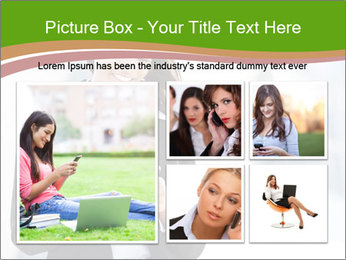 Black businesswoman PowerPoint Template - Slide 19