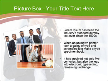 Black businesswoman PowerPoint Template - Slide 20