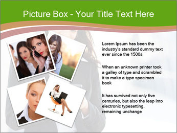Black businesswoman PowerPoint Template - Slide 23
