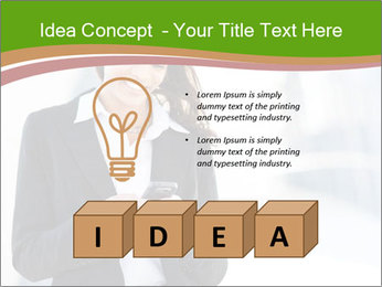 Black businesswoman PowerPoint Template - Slide 80